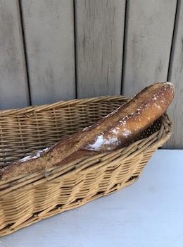 Panière à pain, décor centre de table